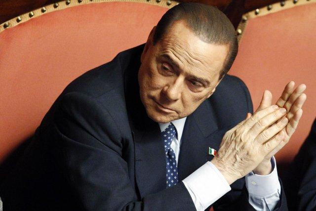 L'ex-premier ministre italien Silvio Berlusconi.... (PHOTO GIAMPIERO SPOSITO, ARCHIVES REUTERS)