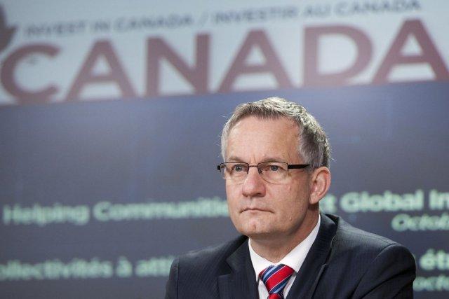 Le ministre fédéral du Commerce international, Ed Fast.... (Photo La Presse Canadienne)
