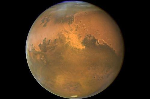 La planète Mars.... (Photo Archives AFP)