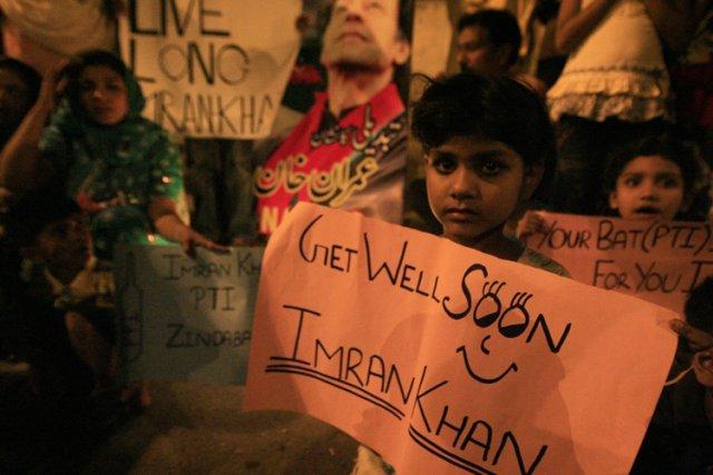 Au cours des derniers mois, Imran Khan a... (Photo: Reuters)