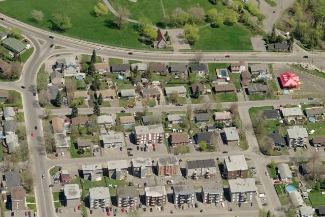 L'affaissement des sols qui a provoqué un trou... (Bing.com)