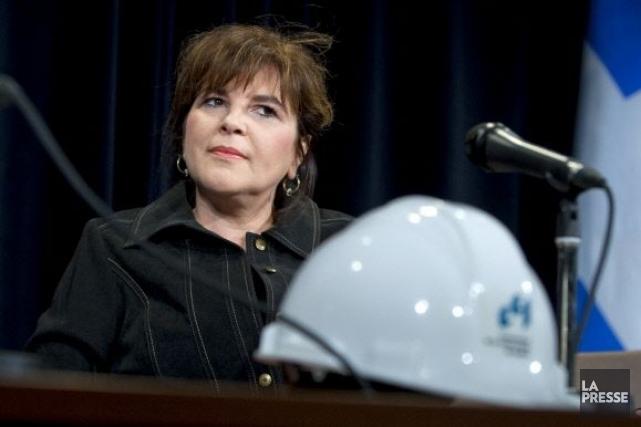 La PDG de la Commission de la construction... (Archives La Presse)