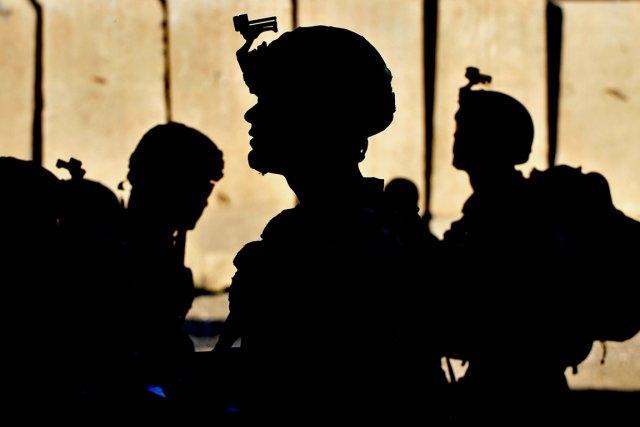 Trois soldats américains ont été tués mardi par l'explosion d'un engin piégé... (PHOTO MANJUNATH KIRAN, AFP)