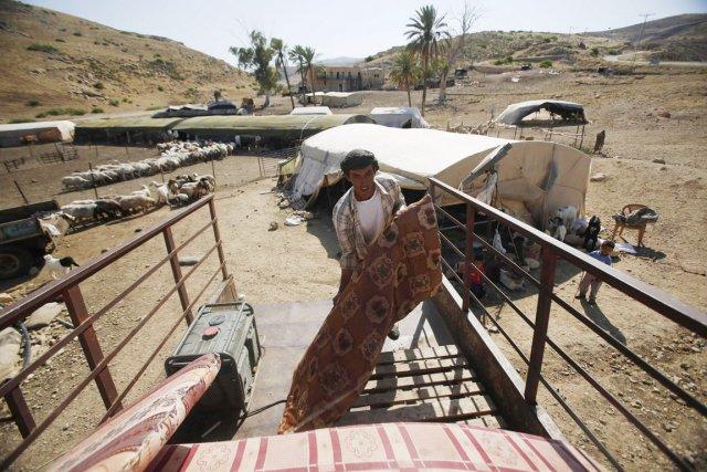 Plusieurs groupes de Bédouins comptent se battre jusqu'au... (PHOTO MOHAMAD TOROKMAN, REUTERS)