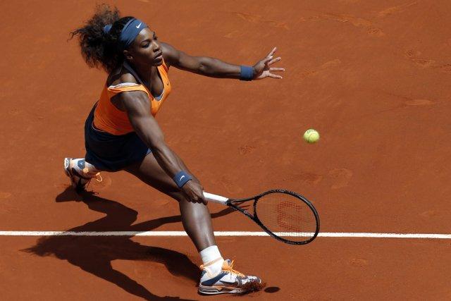 Serena Williams n'a eu besoin que d'un peu... (Photo Andres Kudacki, AP)