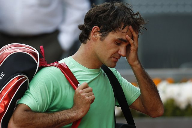 Roger Federer... (Photo Susana Vera, PC)