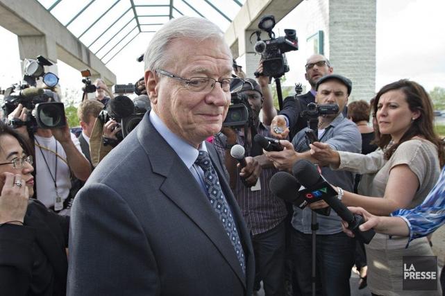 L'ex-maire de Laval, Gilles  Vaillancourt, a été... (Photo Patrick Sanfaçon, La Presse)