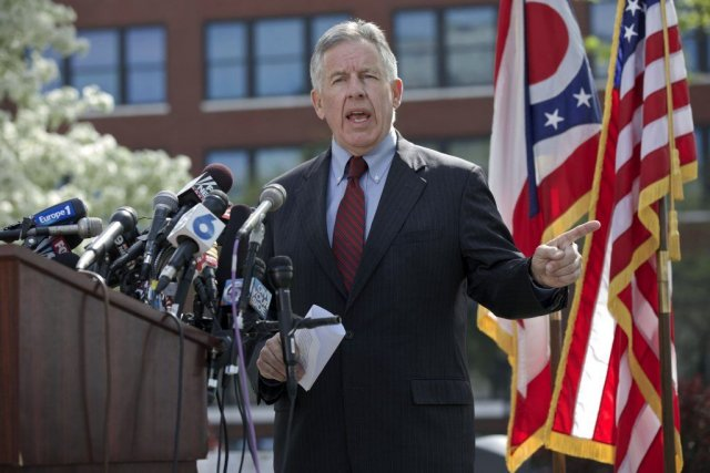 Le procureur Timothy McGinty a affirmé jeudi qu'il... (Photo JOHN GRESS, REUTERS)