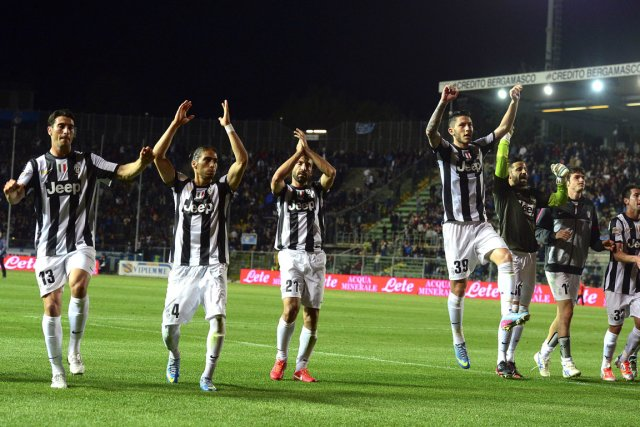 La Juve vise une dixième victoire de rang... (Photo : Olivier Morin, AFP)