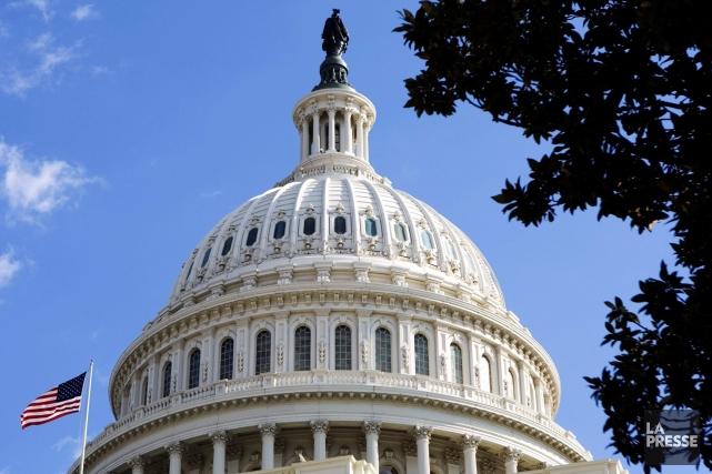 Le capitole de Washington abritant entre autres le... (PHOTO ASSOCIATED PRESS)