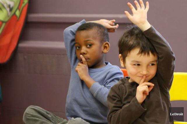 L'Outaouais obtient sept des 100 nouvelles classes de maternelle 4 ans à temps... (Simon Séguin-Bertrand, Archives LeDroit)