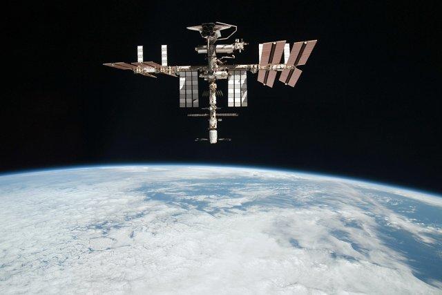 La Station spatiale internationale.... (Photo: archives NASA)