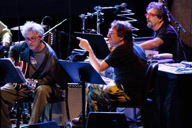 John Zorn (au centre) accorde une grande importance... (Photo fournie par le Festival de Jazz de Montréal)