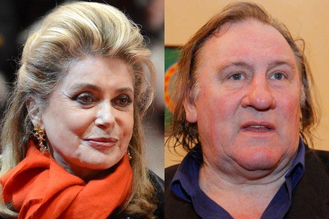 Catherine Deneuve et Gérard Depardieu.... (Photos Agence France-Presse)