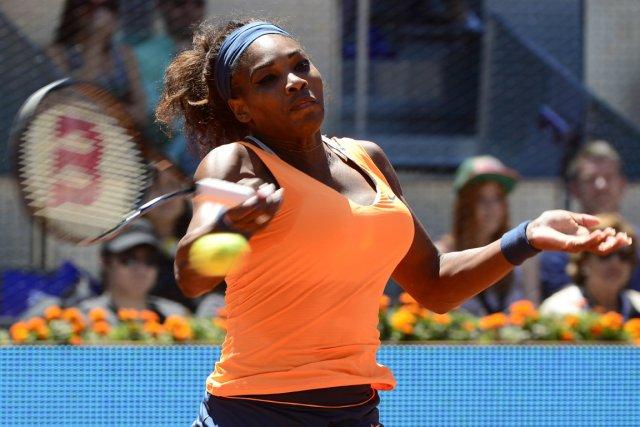 Serena Williams a vaincu Maria Sharapova en deux... (Photo : Javier Soriano, AFP)