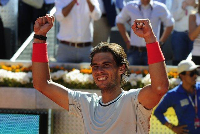 Rafael Nadal a ajouté un 5e titre en... (Photo : Dominique Faget, AFP)