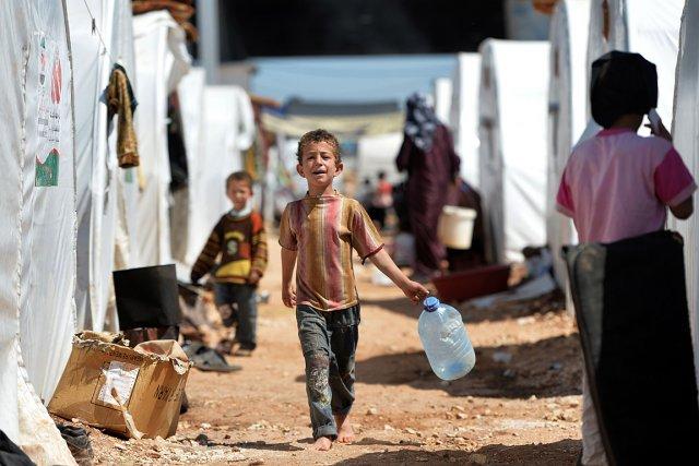 Plus du quart des 22,5 millions de Syriens... (Photo: AFP)