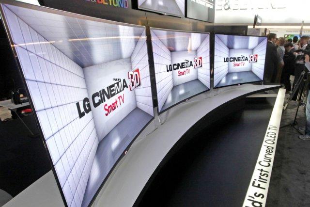 LG annonce le démarrage des précommandes de son téléviseur OLED courbe de 55...