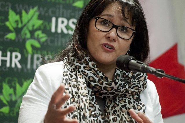 La ministre fédérale de la Santé, Leona Aglukkaq,... (Photo: archives PC)