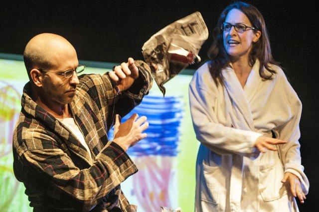 La pièce Enfantillages est composée d'une douzaine de... (Photo: fournie par le Théâtre La Licorne)