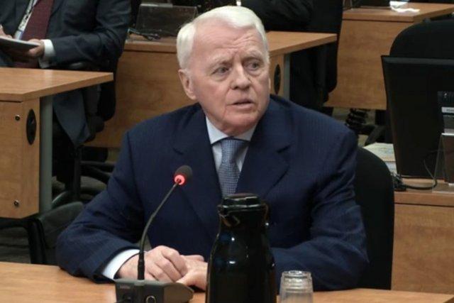L'ancien  organisateur politique Gilles Cloutier.... (Photo: tirée d'une vidéo, La Presse)