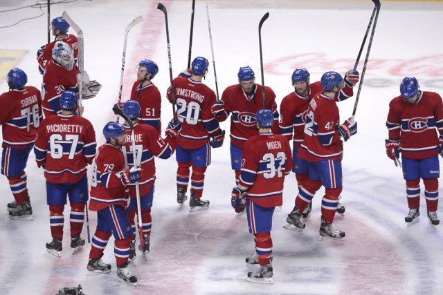 La saison du Canadien s'est terminée abruptement, après seulement cinq matchs... (Photo Bernard Brault, La Presse)