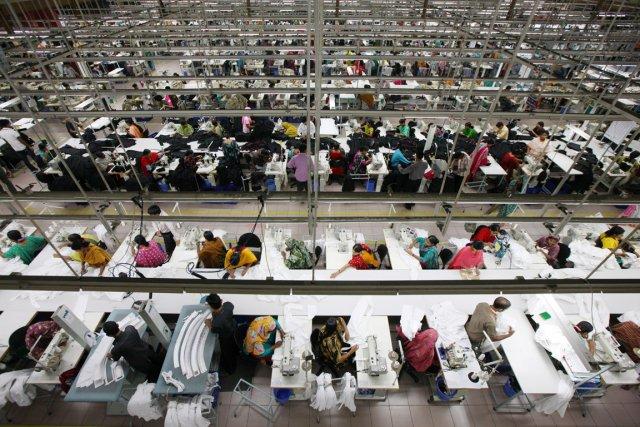 Le Bangladesh compte quelque4500 usines dans le domaine... (PHOTO TOMOHIRO OHSUMI, ARCHIVES BLOOMBERG NEWS)