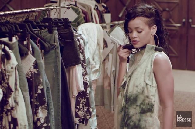 Rihanna... (Image vidéo)