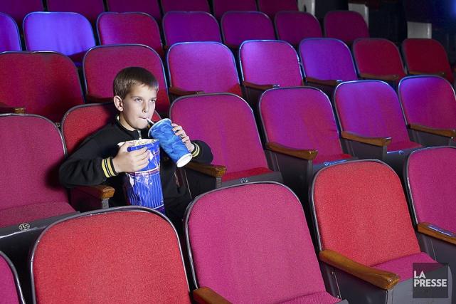 Les salles de cinéma françaises ont fait 25,45 millions d'entrées au mois de... (PHOTO ARCHIVES LA PRESSE)