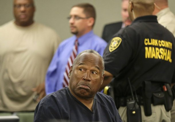 O.J. Simpson dans la salle du tribunal de... (Photo Reuters)