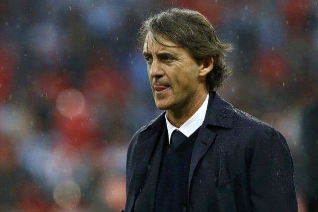 Roberto Mancini... (Photo archives Reuters)