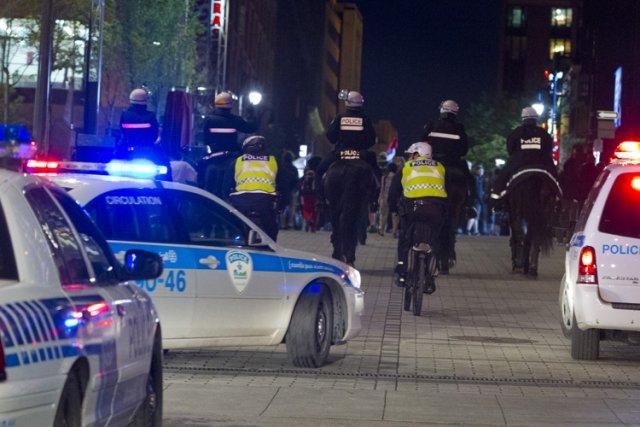 Le nombre de plaintes reçues à l'encontre des policiers a bondi en 2012, selon... (Photo: Alain Roberge, La Presse)