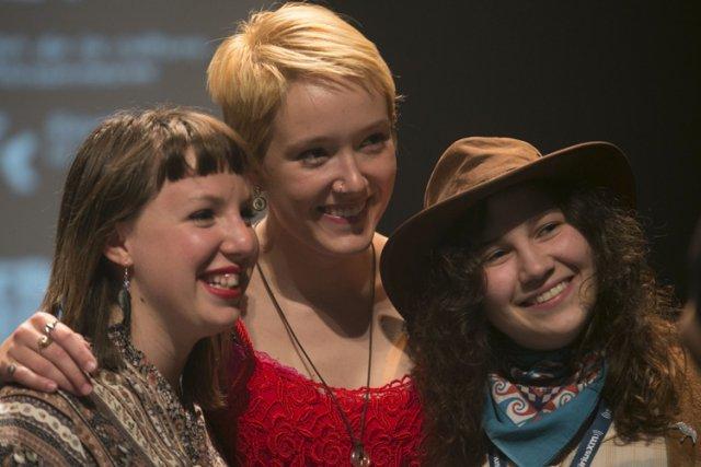Les Hay Babies: un trio de Moncton à... (Photo: André Pichette, La Presse)