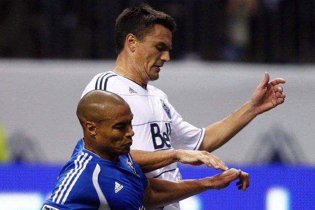 L'arrière gauche des Whitecaps de Vancouver Alain Rochat... (Photo Ben Nelms, Reuters)