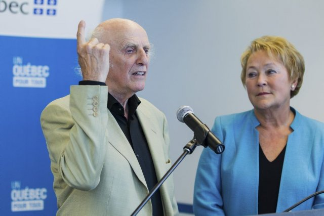 La première ministre Pauline Marois a fait cette... (Photo: Édouard Plante-Fréchette, La Presse)