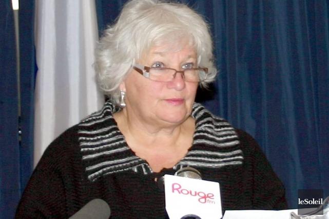 La mairesse de Mont-Joli, Danielle Doyer,envisage de quitter... (Photothèque Le Soleil)