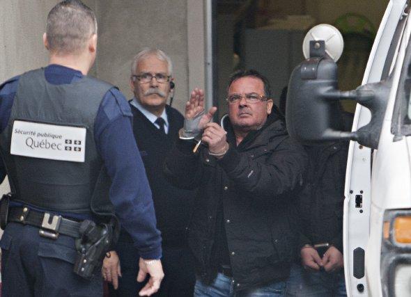 Raynald Desjardins, l'un des présumés meurtriers de Salvatore... (PHOTO FRANCOIS ROY, LA PRESSE)