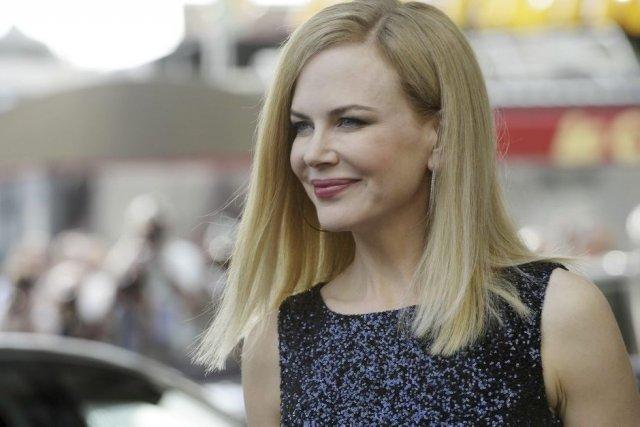 Nicole Kidman, membre du jury, à son arrivée... (Photo: AFP)