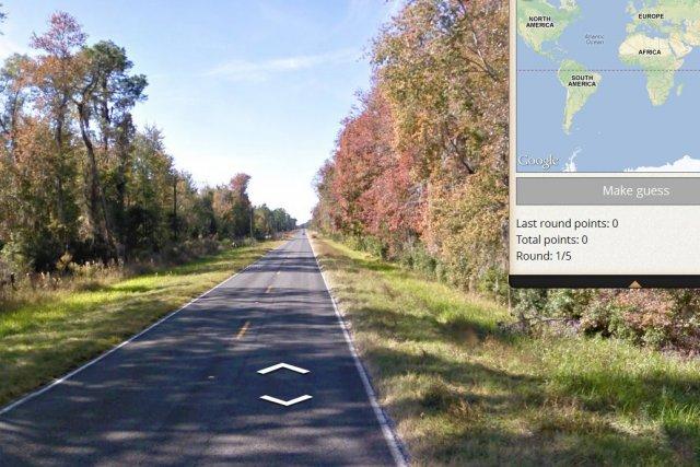 En transformant Google Streetview en jeu de devinettes pour globe-trotteurs,...