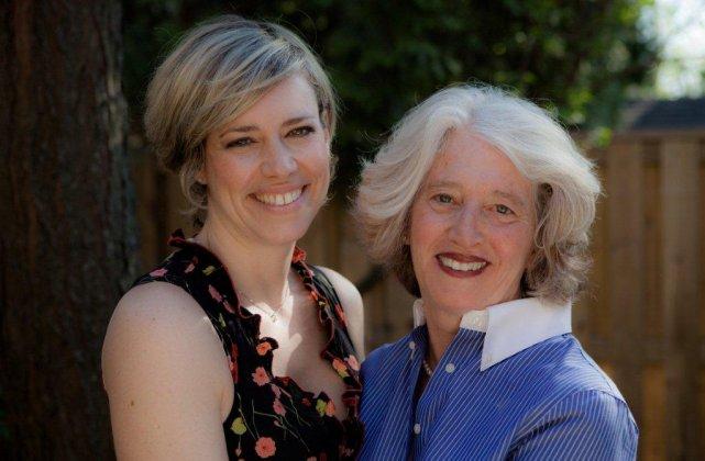Ma soeur Marie-Christine et ma mère Liliane.... (Photo fournie par l'auteure)