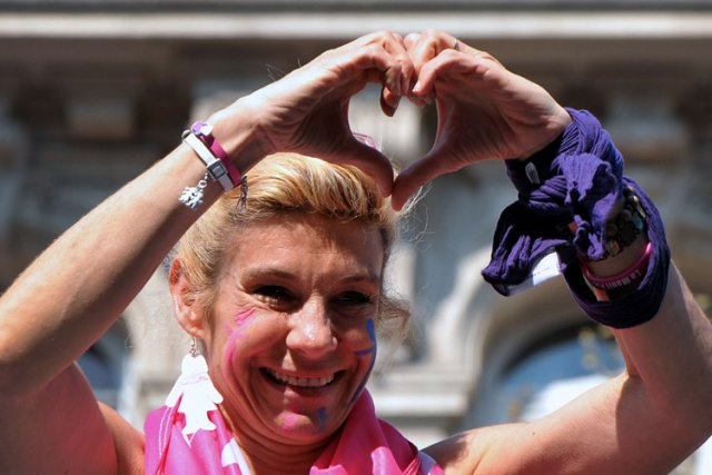 Frigide Barjot... (Photo: AFP)