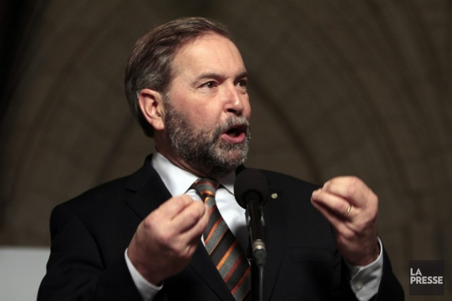 Thomas Mulcair Etienne Ranger,LeDroit... (Photo Étienne Ranger, Le Droit)