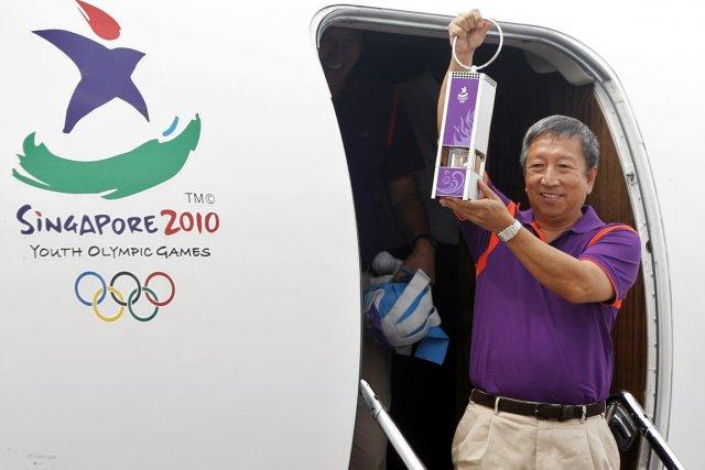 Le vice-président singapourien du CIO, Ng Ser Miang.... (Photo Vivek Prakash, Reuters)