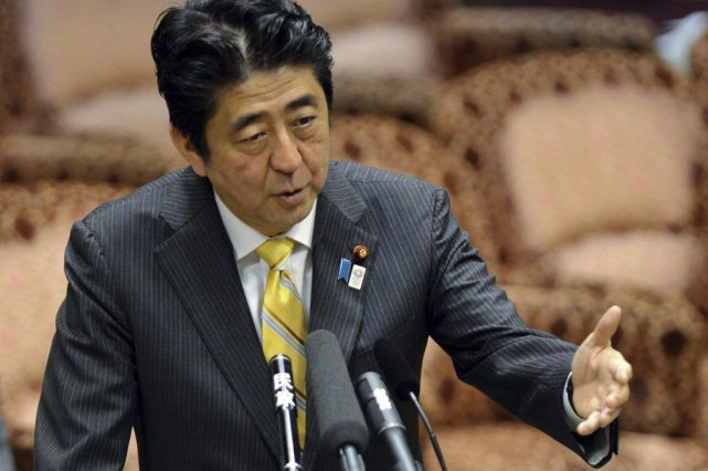 Le premier ministre japonais Shinzo Abe.... (Photo Yoshikazu Tsuno, Agence France-Presse)