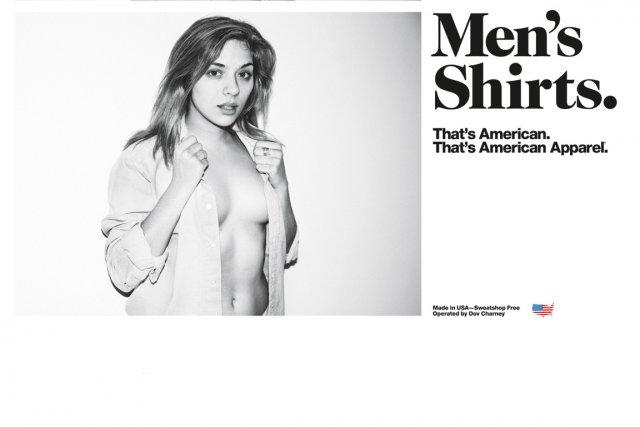 Exemple de publicité de la marque American Apparel.... (PHOTO TIRÉE DU SITE WEB WWW.AMERICANAPPAREL.NET)