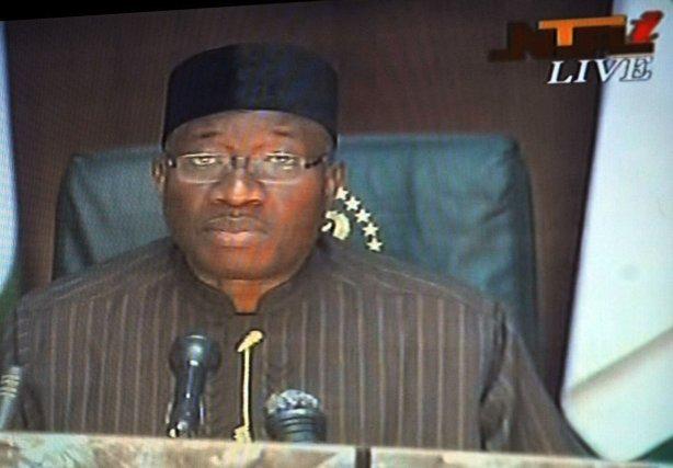 Le président Goodluck Jonathan.... (Photo Agence France-Presse)