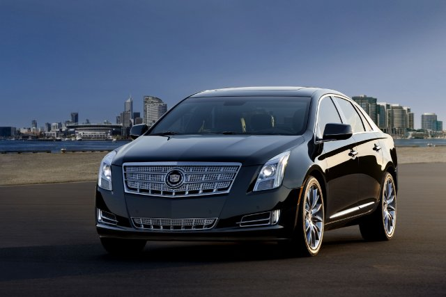 La Cadillac XTS 2014... (Photo fournie par General Motors)