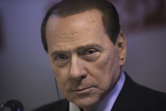 Silvio Berlusconi... (Photo Mauricio Lima, Agence France-Presse)