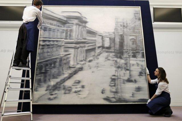 Domplatz, Mailand de Gerhard Richter... (Lefteris Pitarakis)