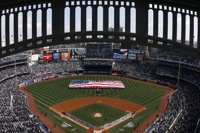 Le Yankee Stadium sera le théâtre de deux matchs de la LNH, la saison... (Photo Mike Segar, Reuters)